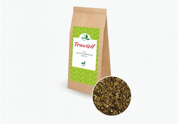 Чай зеленый мелколистовой