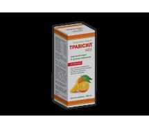 Трависил® Нео травяной сироп от кашля со вкусом апельсина